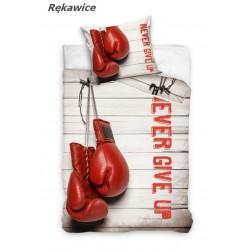 Pościel bawełniana 160x200 Rękawice bokserskie Carbotex