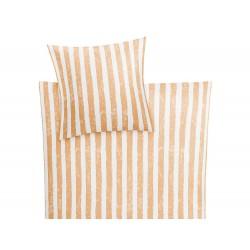 Pościel Kleine Wolke Stripe Peach 155x220