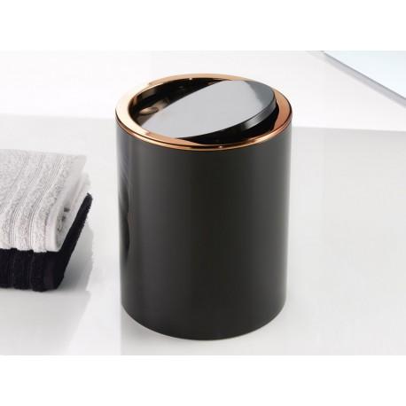Kosz na śmieci Kleine Wolke 5L Clap Copper Black