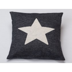 Poszewka David Fussenegger Silvretta Stars Grey 40x40