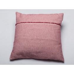 Poszewka David Fussenegger Riva Uni Pink 50x50