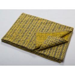 Koc David Fussenegger Deco Wooly Limone 130x200