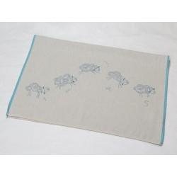 Kocyk David Fussenegger Eco Sheeps Blue 100x140