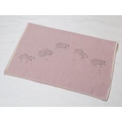 Kocyk David Fussenegger Eco Sheeps Pink 100x140