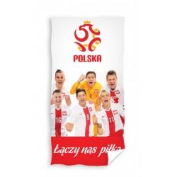 Ręcznik piłkarski 70x140 Lewandowski Drużyna 0683 Carbotex