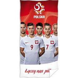 Ręcznik piłkarski 70x140 Lewandowski Drużyna 1442 Carbotex