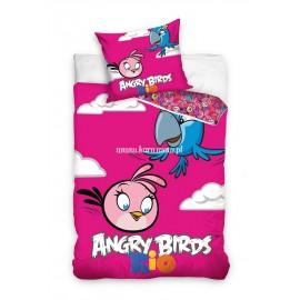 Pościel Angry Birds 160x200 Papuga Blu Rio 1611