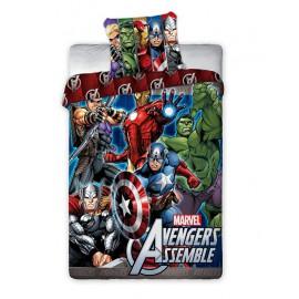 Pościel Avengers 140x200 01 Iron Man Kapitan Ameryka Thor Hulk Faro
