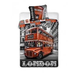 Pościel Młodzieżowa 160x200 Londyn City 02 Faro