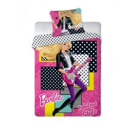 Pościel Barbie 160x200 Fabulous Style Licencja 3023 Faro