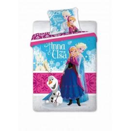 Pościel Frozen 160x200 Kraina Lodu Anna, Elsa, Olaf Sisters Faro