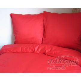 Pościel satynowa 160x200 Czerwony 029 Darymex