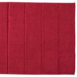 Dywanik łazienkowy 60x60 - Adagio - czerwony