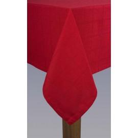 Obrus Kaja 140x180 Czerwony Irys