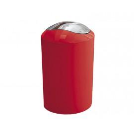 Kosz na śmieci 5L Glossy Red Kleine Wolke