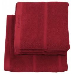 Ręcznik kąpielowy Adagio czerwony 70x130 Aquanova