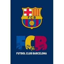Ręcznik Barcelona 30x50 Granatowy FCB 9291