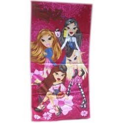 Ręcznik Bratz 76x152 różowy 5981 Faro