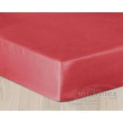 Prześcieradło satynowe 200x220 Czerwone 029 Darymex