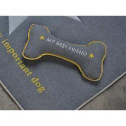 Poduszka David Fussenegger dla psa Big Bone Grey 20x40