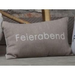 Poszewka David Fussenegger Sylt Feierabend Beige 30x50
