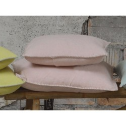Poszewka David Fussenegger Sylt Uni Powder Pink 40x40