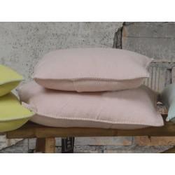 Poszewka David Fussenegger Sylt Uni Powder Pink 50x50