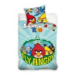Pościel Angry Birds 160x200 Fly Angry Carbotex
