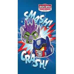 Ręcznik Angry Birds Transformers 70x140 Smash Detexpol