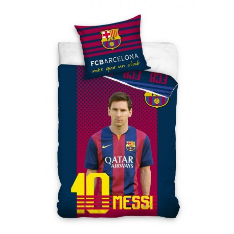 Pościel Barcelona 160x200 Leo Messi 9129 Carbotex