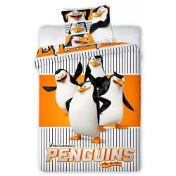 Pościel bawełniana 160x200 Pingwiny Madagaskaru Faro