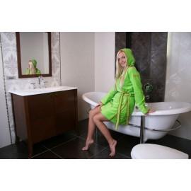 Szlafrok Benetton zielony 48 XL 006