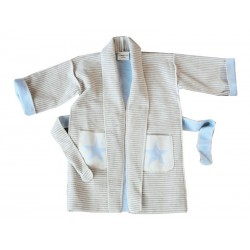 Szlafrok dziecięcy David Fussenegger Kimono My Star 2-4l