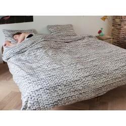Pościel Snurk Twirre Grey 140x200