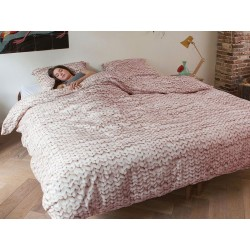 Pościel Snurk Twirre Pink 140x200