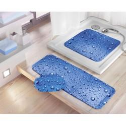 Mata Bubble Blue 36x92 Kleine Wolke