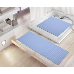 Mata Lines Light Blue 36x80 Kleine Wolke