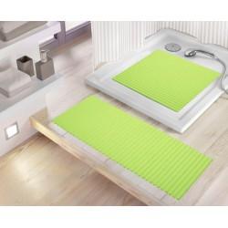 Mata Lines Green 55x55 Kleine Wolke