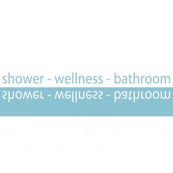 Dekoracja łazienkowa Kleine Wolke Shower Slim
