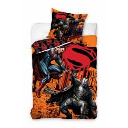 Pościel bawełniana 160x200 Batman i Superman 1284 Carbotex