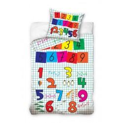Pościel dziecięca 160x200 Cyfry 1468 Carbotex