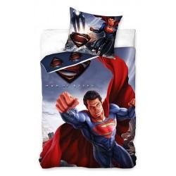 Pościel bawełniana 160x200 Superman 1253 Carbotex