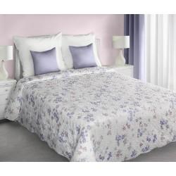 Narzuta dekoracyjna 220x240 Suzie kremowo fioletowa Eurofirany