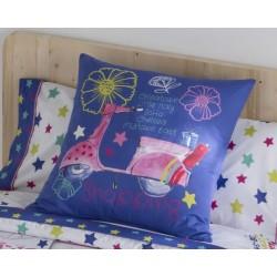 Poduszka JVR Tejidos Dreaming Blue 60x60