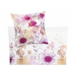Pościel Kleine Wolke Flores Pink 155x220