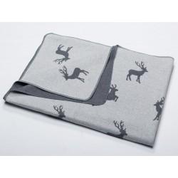 Koc David Fussenegger Silvretta Deers Grey 140x200