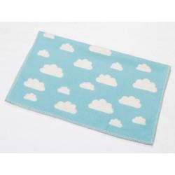 Kocyk David Fussenegger Finn Clouds Blue 65x90