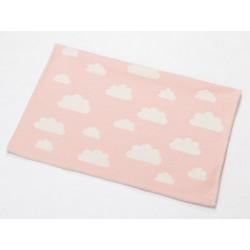 Kocyk David Fussenegger Finn Clouds Pink 65x90