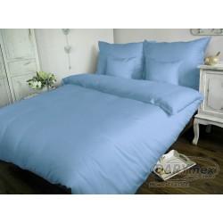 Pościel satynowa 200x220 niebieska 009 Darymex