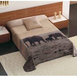 Koc Piel 5185/5 220x240 słonie